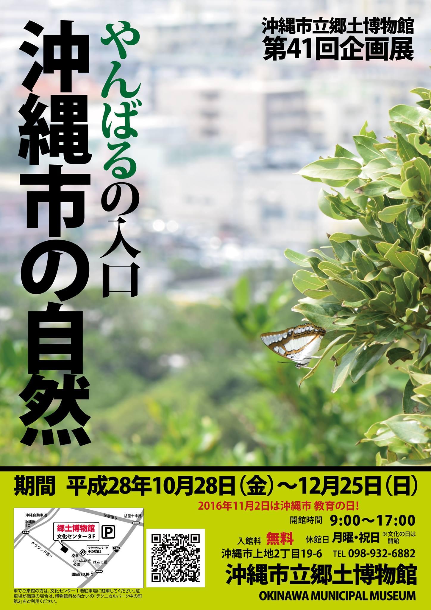 沖縄市はやんばるの入り口?!トークイベントに行ってきました。